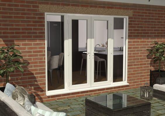 Climadoor UPVC French Doors - White