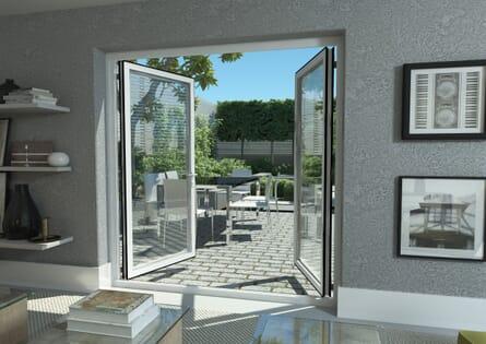 Aluminium French Doors