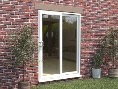Climadoor Part Q Upvc Sliding Patio Doors - White Image
