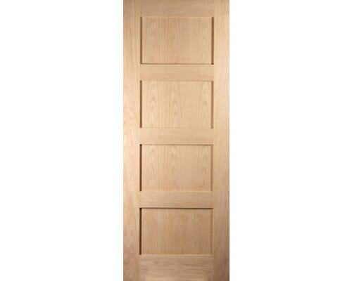 Shaker 4 Panel Fire Door