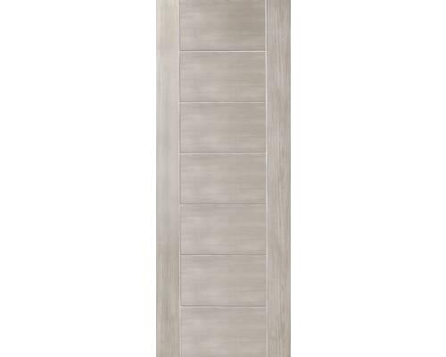 Palermo White Grey Laminate Fire Doors