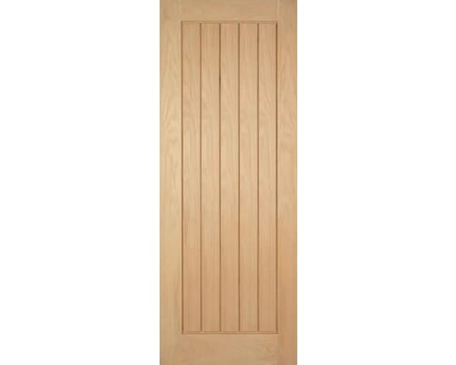Mexicano Oak Fire Door