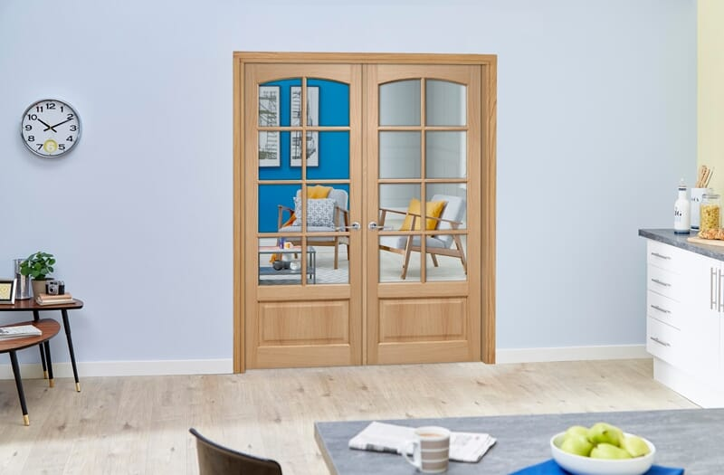 How to Paint Internal Folding French Doors