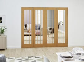 Internal French Folding Room Dividers