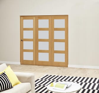 Oak 4L Roomfold Deluxe - Frosted