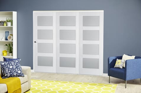 Contemporary White 4L Roomfold Deluxe
