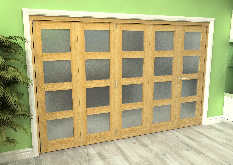 Oak 4l Roomfold Grande - Frosted Prefinished Image
