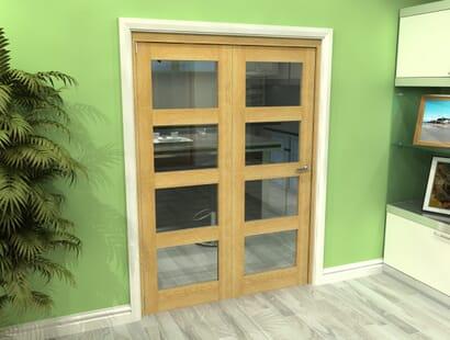 Oak 4l Roomfold Grande - Clear Unfinished Image