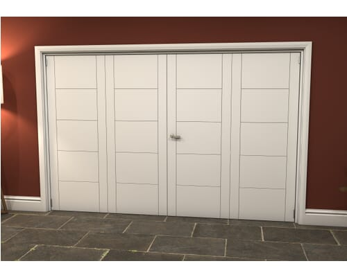 White Iseo Roomfold Grande - Prefinished