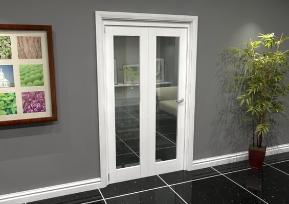 White P10 Roomfold Grande (2 + 0 x 533mm Doors)