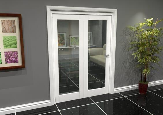 White P10 Roomfold Grande (2 + 0 x 762mm Doors)