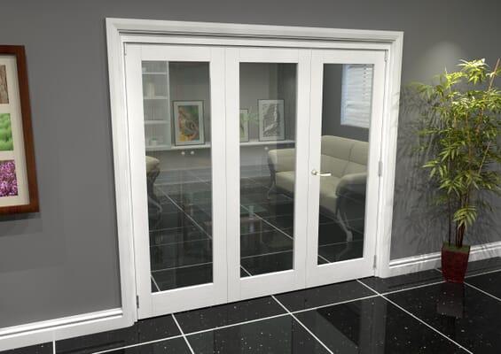 White P10 Roomfold Grande (2 + 1 x 686mm Doors)
