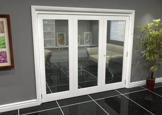 White P10 Roomfold Grande (2 + 1 x 762mm Doors)