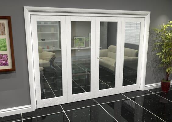 White P10 Roomfold Grande (2 + 2 x 686mm Doors)