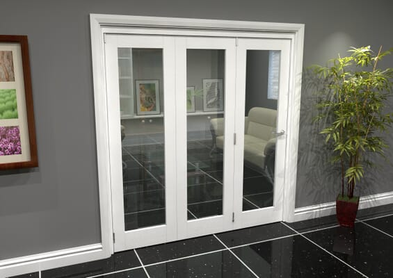 White P10 Roomfold Grande (3 + 0 x 610mm Doors)