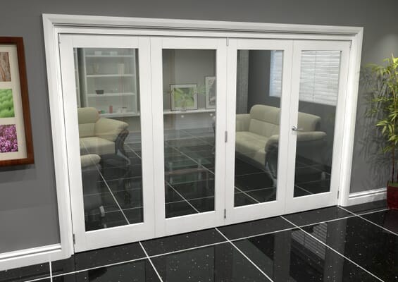 White P10 Roomfold Grande (3 + 1 x 762mm Doors)