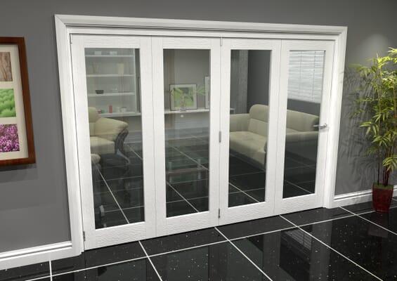 White P10 Roomfold Grande (4 + 0 x 686mm Doors)