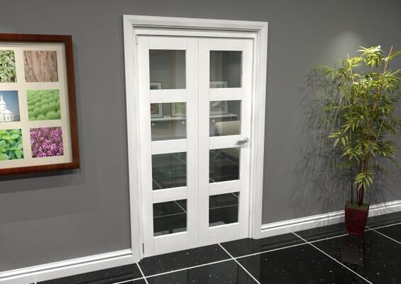White 4L Roomfold Grande (2 + 0 x 533mm Doors)