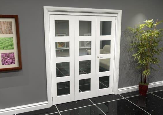 White 4L Roomfold Grande (2 + 1 x 533mm Doors)