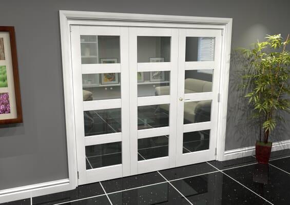 White 4L Roomfold Grande (2 + 1 x 686mm Doors)