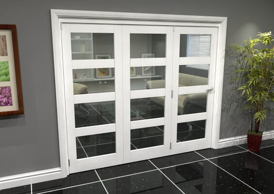 White 4L Roomfold Grande (3 + 0 x 762mm Doors)