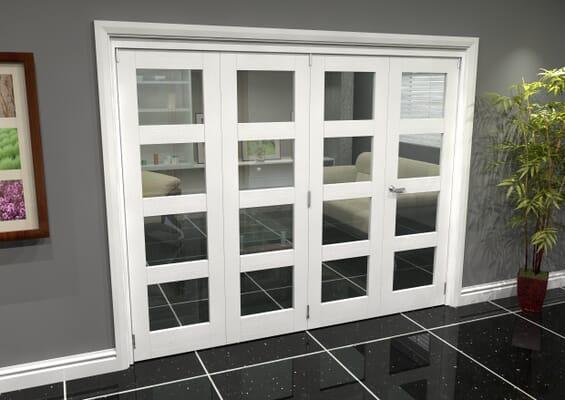 White 4L Roomfold Grande (3 + 1 x 610mm Doors)
