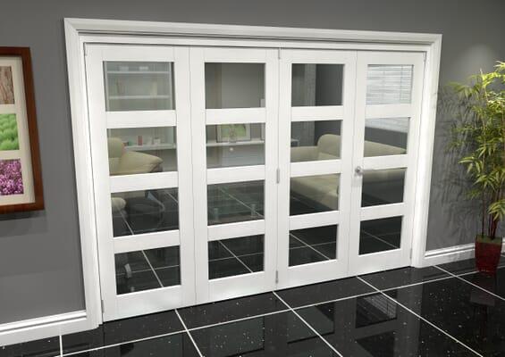 White 4L Roomfold Grande (3 + 1 x 686mm Doors)