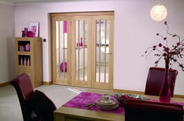 Lincoln Oak RoomFold Interior Doors Image