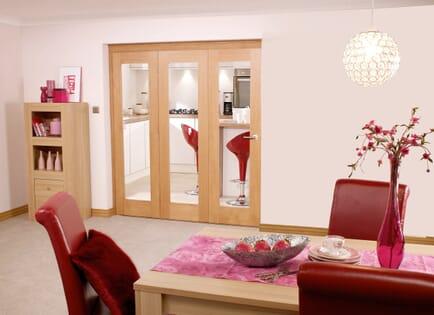Oak Internal Bifold Doors