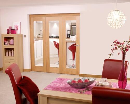 Oak Internal Bifold Doors Image