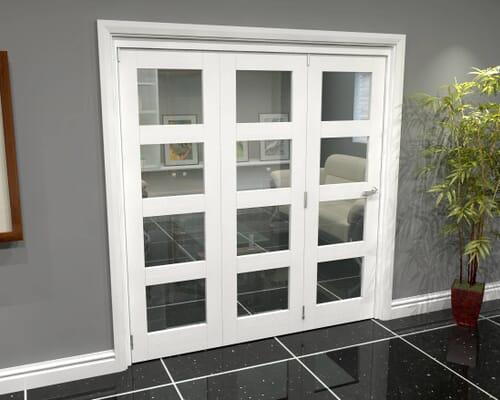White Primed Internal Bifold Doors Image