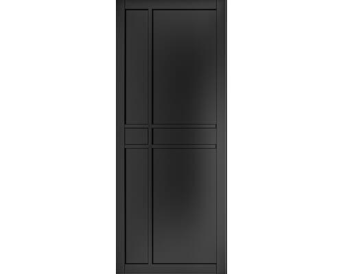 Dalston Black Prefinished Internal Doors