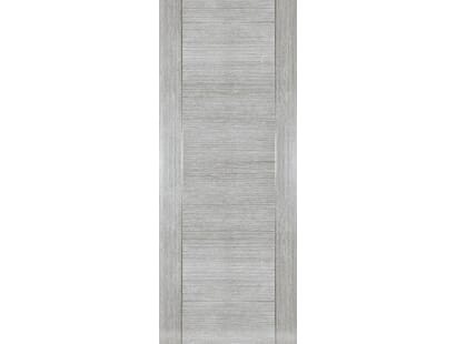 Montreal Light Grey Ash - Pre-finished Fire Door Image
