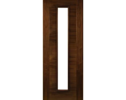 Seville Walnut Glazed Internal Doors