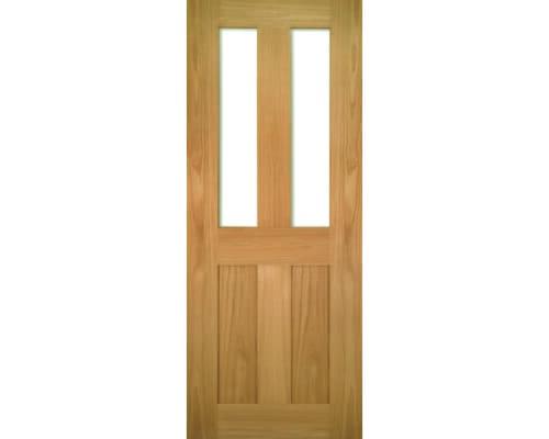 Eton Oak Glazed Internal Doors