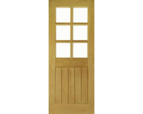 Ely Glazed Oak - Prefinished Internal Doors
