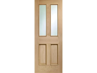 Malton Oak Glazed Door Rm2s Image