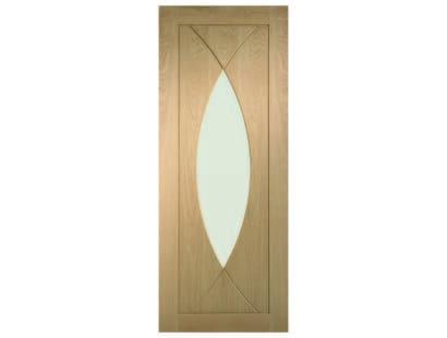 Pesaro Oak Glazed Door Image