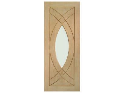 Treviso Oak Glazed Door Image