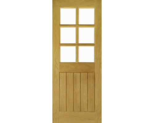 Ely Glazed Oak Internal Doors