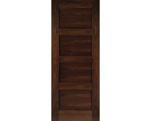 Coventry Walnut - Pre-finished Fire Door