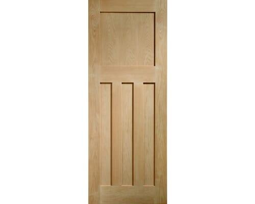 Dx Oak Fire Door