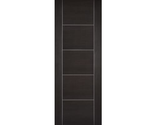 Vancouver Dark Grey Laminate Internal Doors