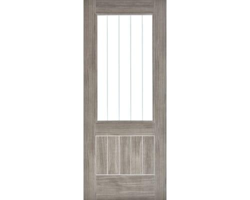 Mexicano Light Grey Glazed Laminate Internal Doors