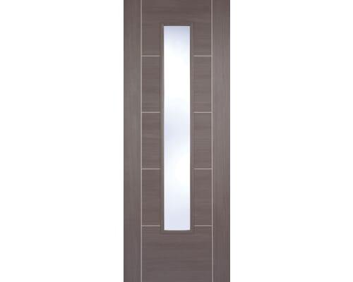 Vancouver Medium Grey Glazed Laminate Internal Doors