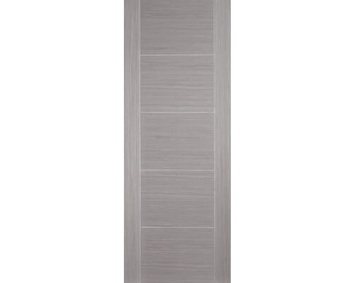 Vancouver Light Grey - Pre-finished Fire Door