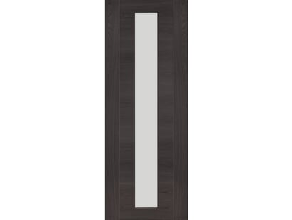 Forli Umber Grey Laminate - Clear Internal Doors Image
