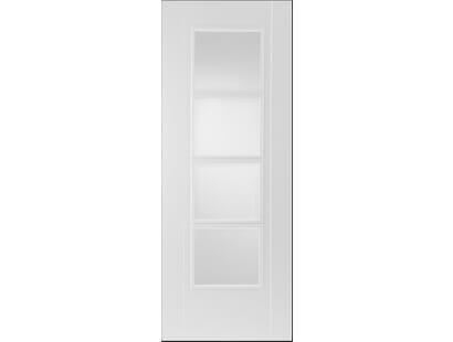 White Iseo 4 Light Unglazed Image