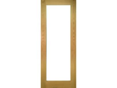 Walden Glazed Oak Door - Clear Image