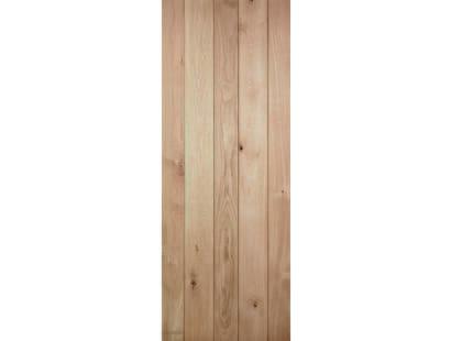Solid Oak Ledged Door Image